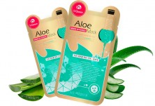 Маска для лица с экстрактом алоэ  Aloe Mask (Korea)